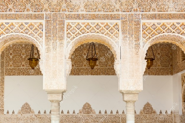 arcos-estilo-musulman-islamico-alhambra-granada-espana_463270-3767